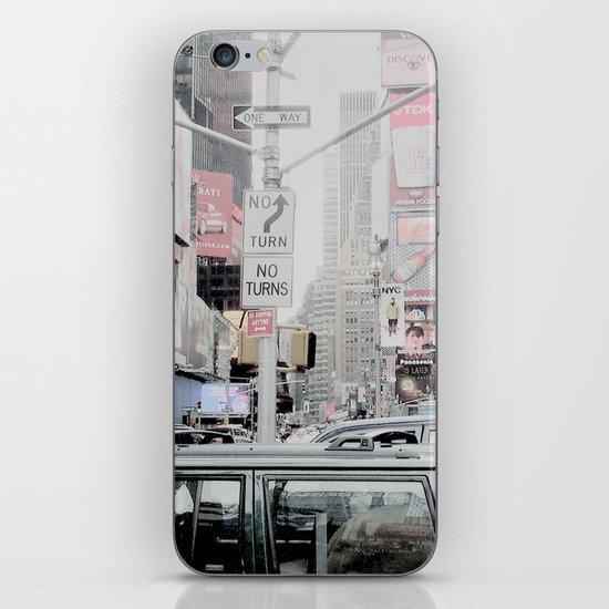 NEW YORK 2 iPhone & iPod Skin