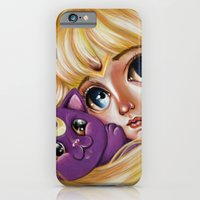 iPhone & iPod Case featuring Sailor Moon and Luna by Kristin Frenzel