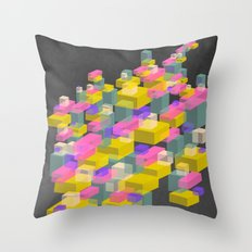 Cubes #2 Throw Pillow