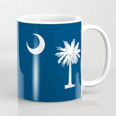 Flag of South Carolina - Authentic version Mug