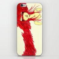 Red Target iPhone & iPod Skin