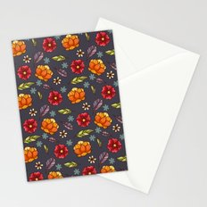 Flowers in the air Stationery Cards