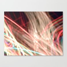 all these lights. Canvas Print