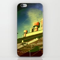 And Even The Sky Was Gol… iPhone & iPod Skin