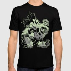MICKTHULHU MOUSE (monoch… Mens Fitted Tee Black SMALL