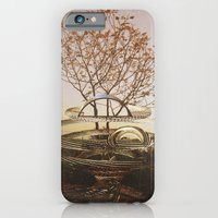 iPhone Cases featuring Intervention 33 by Viviana Gonzalez