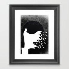 Knight Rising Inverted  Framed Art Print