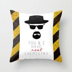 HEISENBERG BREAKING BAD Real Chemistry Throw Pillow