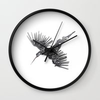 Rad's Birds Wall Clock