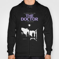 The Exorcist movie poster parody of Doctor Who 10th Hoody