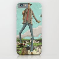 iPhone & iPod Case featuring Tall by Lee Grace Illustration
