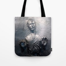 Han Solo Carbonite Tote Bag
