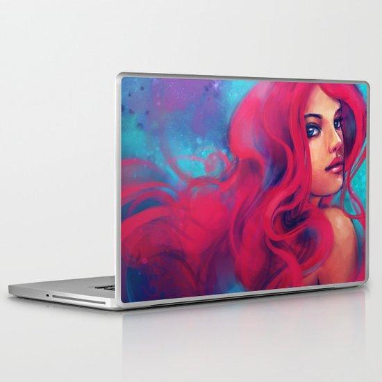 Daughter of Triton Laptop & iPad Skin