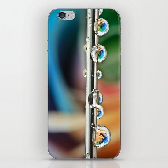 Silver Drops iPhone & iPod Skin
