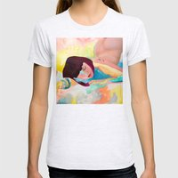 Puffinette Womens Fitted Tee Ash Grey SMALL