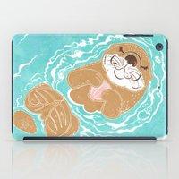 Sea Otter iPad Case