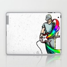 Guitarist (Colour My World) Laptop & iPad Skin