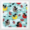 Birds Song Art Print