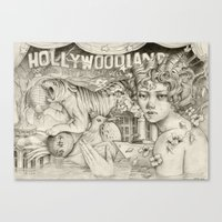 Hollywoodland Canvas Print