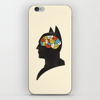 Bat Phrenology iPhone & iPod Skin