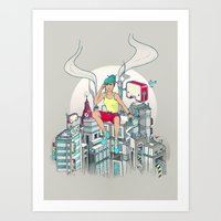 Lost & Found Art Print