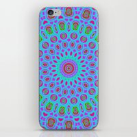 Psychedelic mandala iPhone & iPod Skin