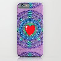 iPhone & iPod Case featuring Heartbeat version by Vargamari
