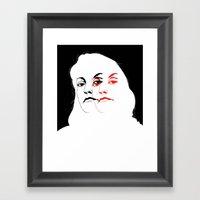 Who is Laura Palmer? Framed Art Print
