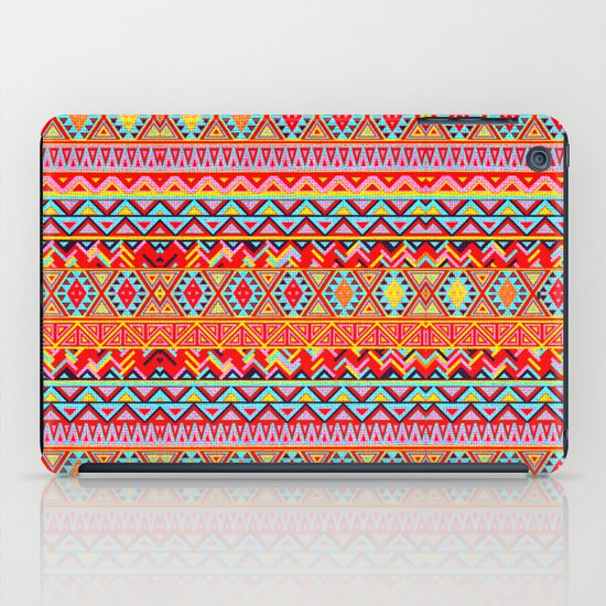 India Style Pattern (Multicolor) iPad Case