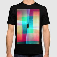 constructs #1 (35mm multiple exposure) Mens Fitted Tee Black SMALL