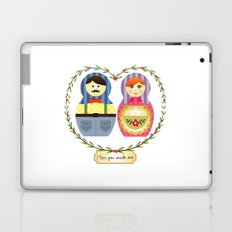 I {❤} Matryoshka Laptop & iPad Skin
