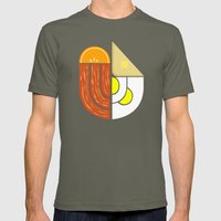 Breakfast Crest Mens Fitted Tee Lieutenant SMALL