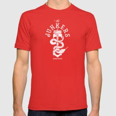 Junkers Mens Fitted Tee Red SMALL