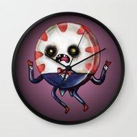 Peppermint Butler :: The Dark One Wall Clock