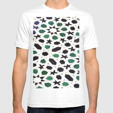 Mosaic Mens Fitted Tee White SMALL