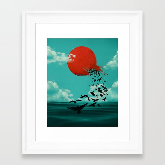 Hatch Framed Art Print
