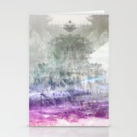 Colored Peak Stationery Cards