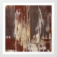 Art Print featuring Rust by INDUR
