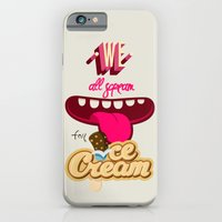 We All Scream For Ice Cream iPhone 6 Slim Case