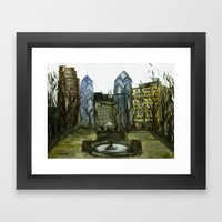Rittenhouse Square In Th… Framed Art Print