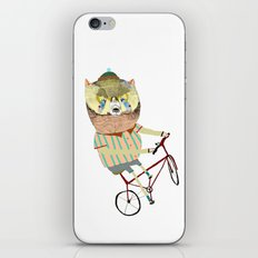 Biking, bike, bikes, biker, bear,  iPhone & iPod Skin