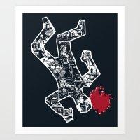 Crime Noir Art Print