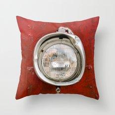 One Headlight Throw Pillow
