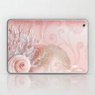 SEASHELL DREAMS | Pink Laptop & iPad Skin