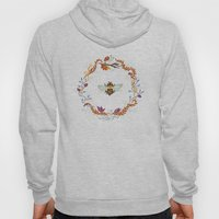 Bee with Flowers Hoody