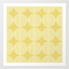 Sunny Circles Art Print