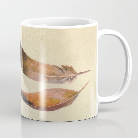Three Feathers  Mug