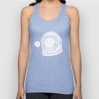 One Small Step, One Giant Ape Unisex Tank Top
