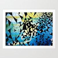 Shatter Art Print