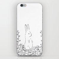 conejo iPhone & iPod Skin